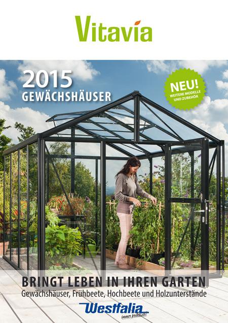 Westfalia Gewächshaus Katalog